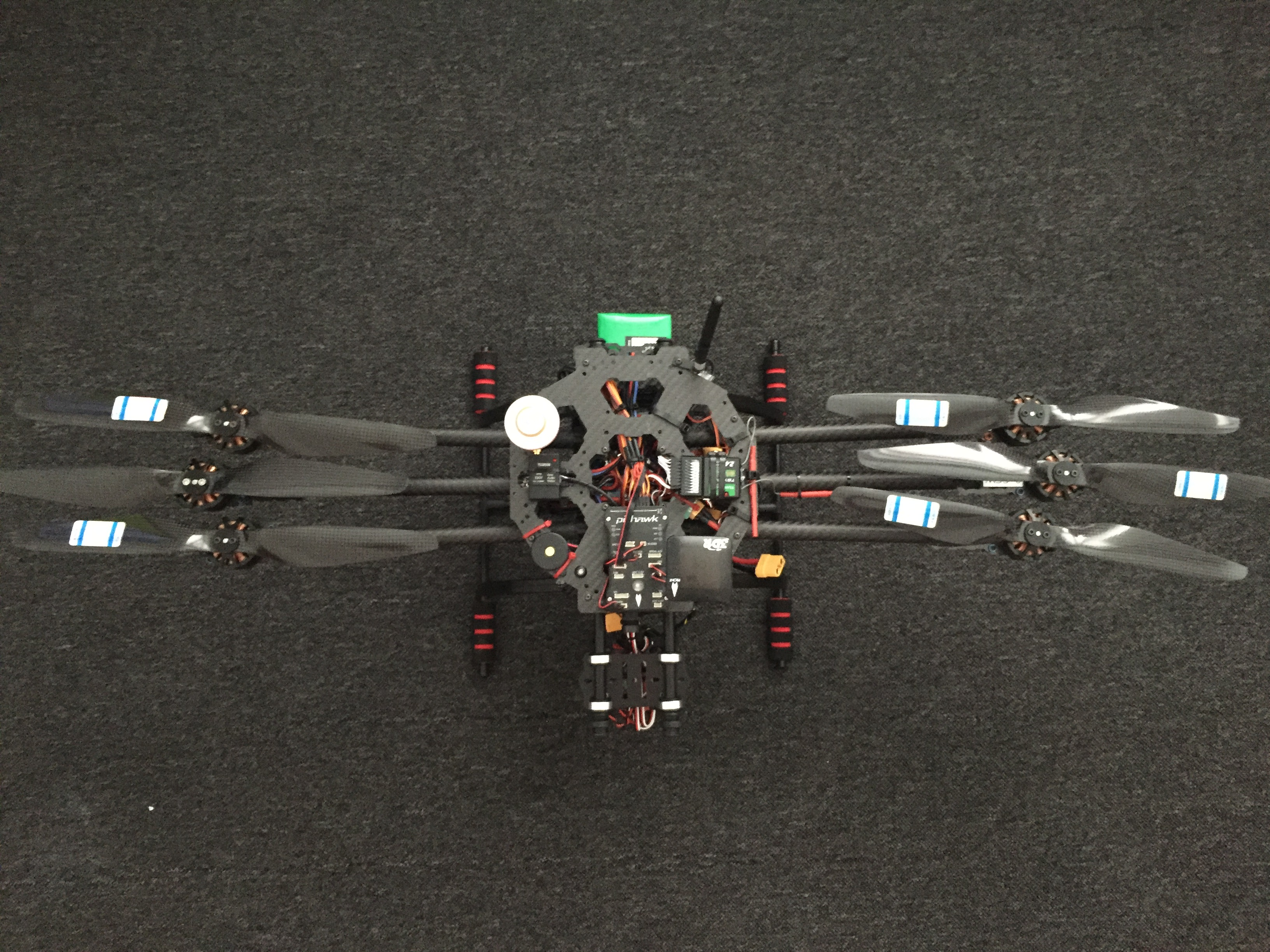 Drone with Props folded