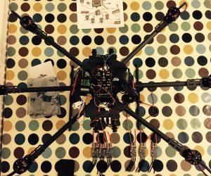 Pixc Hawk, Motors and ESC on Tarot T960